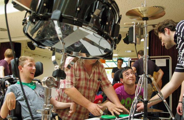 Wenn Taster die Schlagzeug-Sticks ersetzen