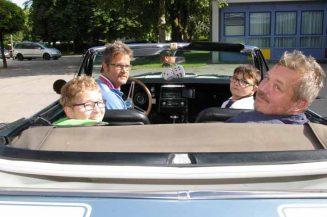 FFH-Kinder auf Oldtimer-Ausfahrt