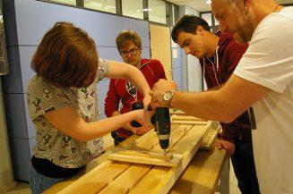 Handwerkliches Kooperationsprojekt für Förderschüler