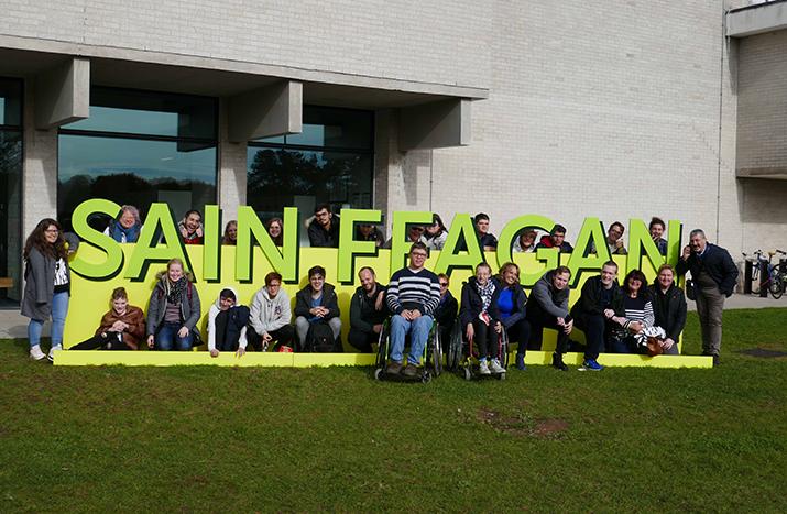 Besuch in Wales dank Erasmus+ Schulbildungsprojekt