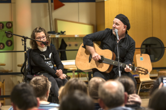 Musikworkshop mit Paul O´Brien