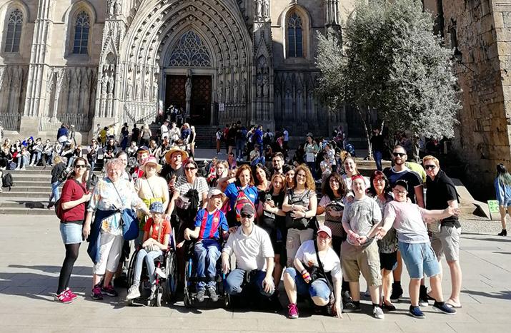 Mit Erasmus+ in Barcelona