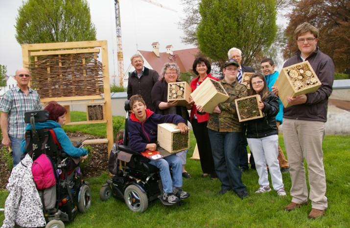 Insektenhotel für nachhaltigen Naturschutz