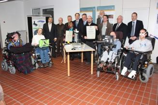 Mechatronik hilft Menschen mit Handicap: Förderpreis des Rotary Club Augsburg-Fuggerstadt geht an Studierende der Hochschule Augsburg