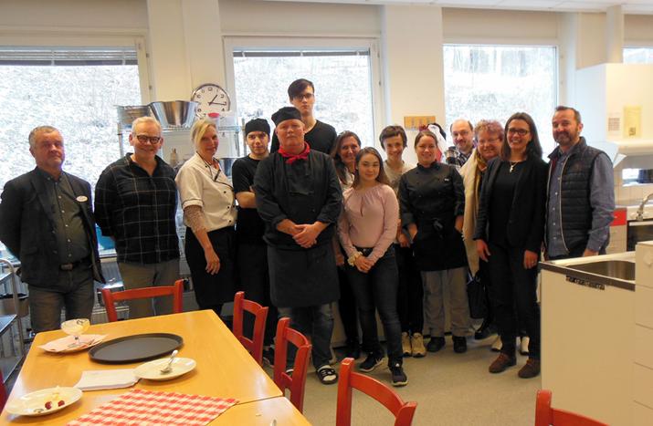 Interdisziplinäres FFH-Team auf Bildungsreise nach Schweden