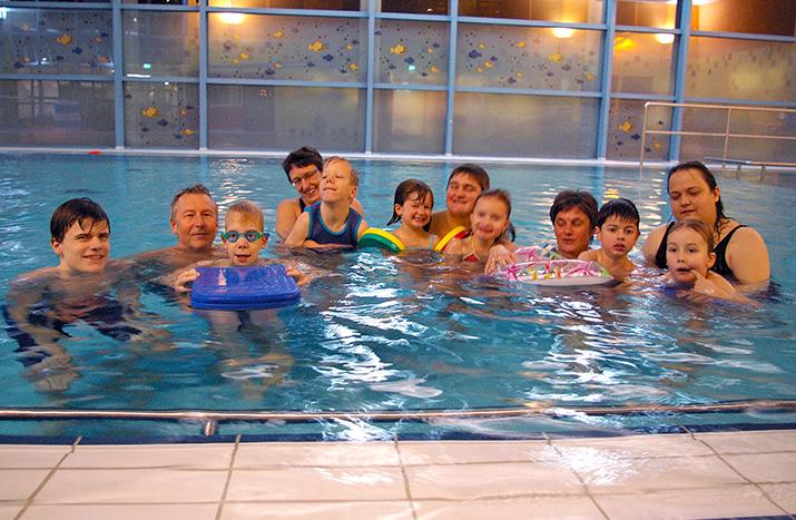 Integrativer Schwimmkurs für Kinder