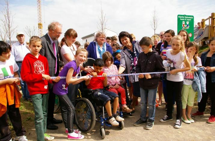 Integrativer Spielplatz ist neues Ausflugsziel für unsere FFH-Kinder