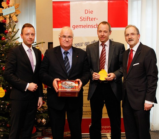 Stiftungsgemeinschaft der Kreissparkasse Augsburg spendet 1730 Euro an unser Haus