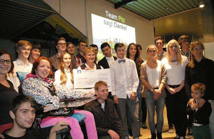 Team Pitz: Für Charity ans Limit!