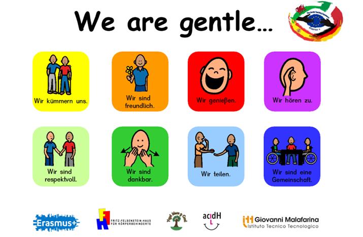 Erasmus+ The Gentle Teaching Experience – Vielfalt braucht Vielfältiges